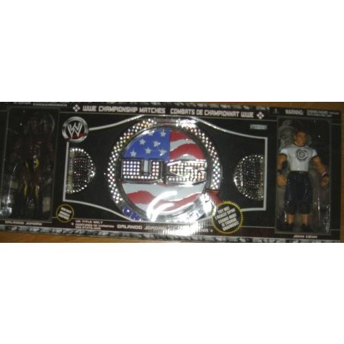 WWE Championship Matches John Cena's (US Title Belt)[海外取寄せ品]