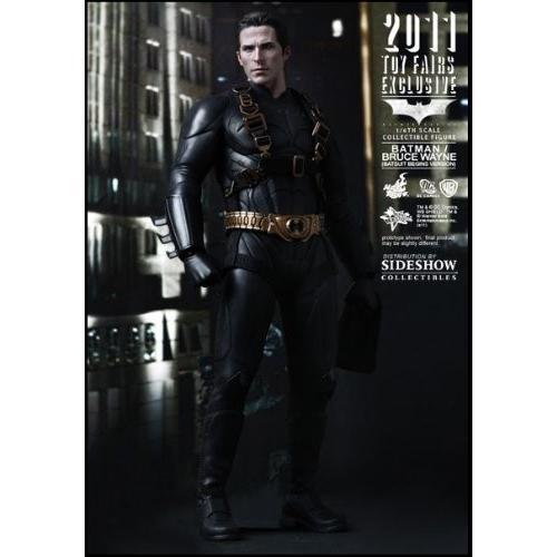 ホット Toys Sideshow Toy Fair 2011 バットマン Batman Begins Bruce ウェイン Bat[海外取寄せ品]