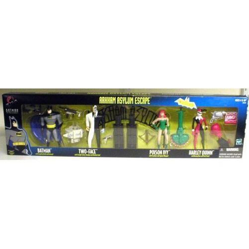 Hasbro バットマン Batman アーカム Asylum Escape 4 パック Harley Quinn, ポイズン ツタ[海外取寄せ品]