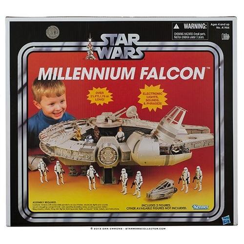 スターウォーズ Star wars 2012 ヴィンテージ Millenium Falcon Exclusive[海外取寄せ品]