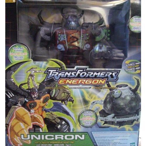 トランスフォーマー Energon Unicron ブラック Variant ~ ToysRUs Exclusive[海外取寄せ品]