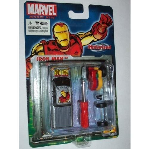 Maisto マーベル コミック Motorized アイアンマン Iron Man GMC Terradyne Die キャスト [海外取寄せ品]