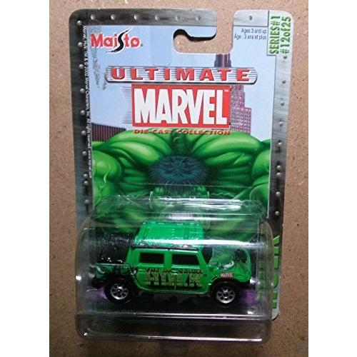 The インクレディブル ハルク Inc赤ible Hulk HUMMER H2 SUT コンセプト マーベル[海外取寄せ品]