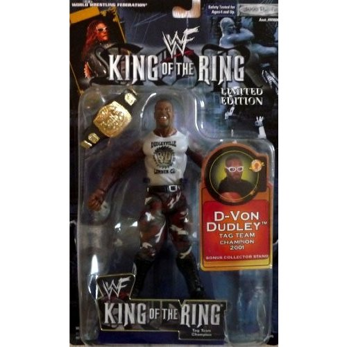 WWF キング Of The リング リミット Edition D-フォン Dudley by Jakks Pacific 2002[海外取寄せ品]