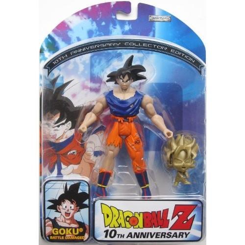 ドラゴンボール Dragon Ball Z 10th アニバーサリー バトル Damage Goku[海外取寄せ品]