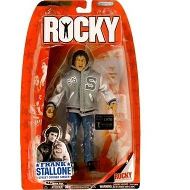 Jakks Pacific Best of Rocky フランク Stallone Rocky 1976 ストリート Corner [海外取寄せ品]