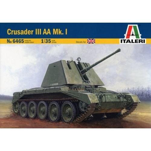 クルセイダー III Anti-Aircraft Mk I Tank 1/35 Italeri by Italeri[海外取寄せ品]