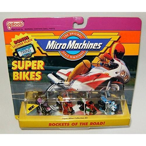 Micro マシーン Super バイク #2 Motorcycle コレクション[海外取寄せ品]