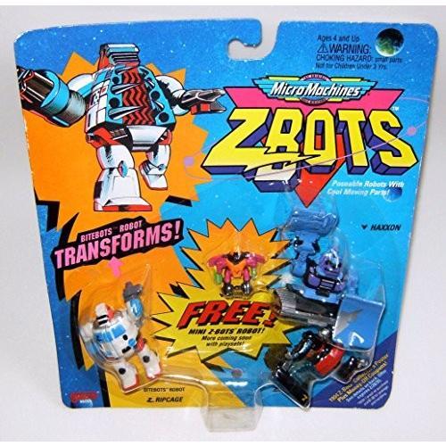 Micro マシーン ZBots (Z-bots) Bitebots 3 パック #25[海外取寄せ品]