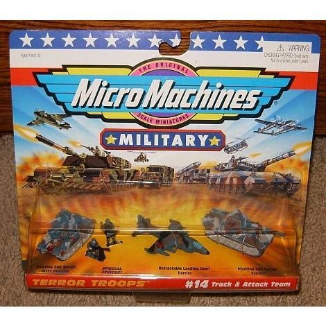 Micro マシーン ミリタリー Terror Troops #14 トラック & Attack チーム[海外取寄せ品]