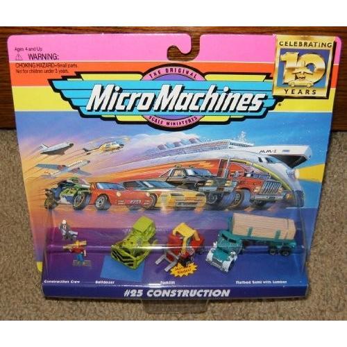 Micro マシーン Construction #25 コレクション[海外取寄せ品]