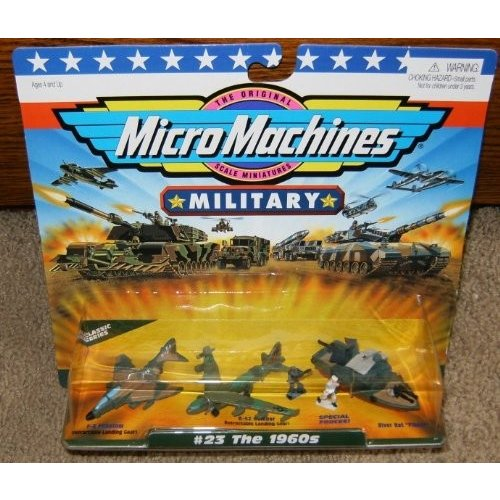 Micro マシーン The 1960s #23 ミリタリー コレクション[海外取寄せ品]