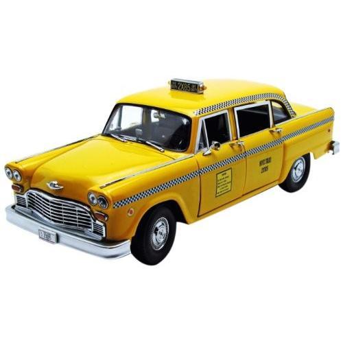 フレンド Phoebe Buffays Checker Taxi Cab 1977 1:18th 緑light[海外取寄せ品]