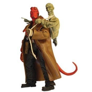ヘルボーイ Hellboy Hellboy figure with Ivan the corpse[海外取寄せ品]