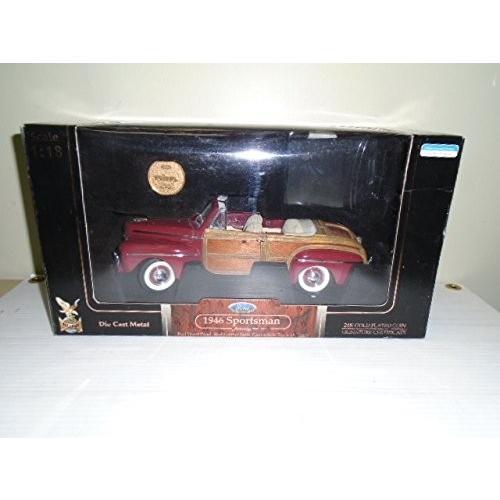 ロード シグネイチャー 1:18 scale 1946 Ford Sportsman Die キャスト メタル[海外取寄せ品]