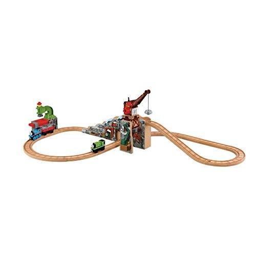Fisher-Price トーマス Thomas ウッデン Railway - Merrick and The ロック Crushe[海外取寄せ品]