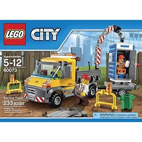 シティ Vehicles レゴ 233 PCS Service Truck Brick ボックス Building Toys[海外取寄せ品]