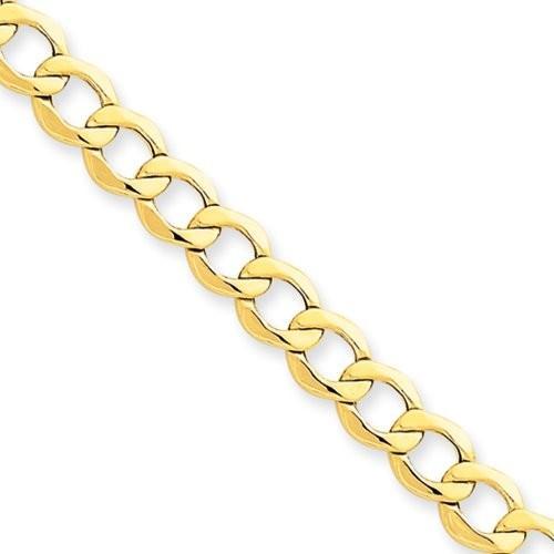 多様な 6.5mm, 14 Karat イエロー ゴールド, ホロー Curb リンク チェーン - 18 インチ(海外取寄せ品), カー用品のAUTOWEB e08c1490