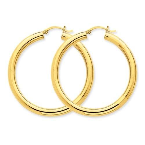 贅沢屋の 4mm, 7/8 (1 14K イエロー ゴールド 50mm クラシック フープ Earrings, 50mm (1 7/8 inch)(海外取寄せ品), スーパーセール期間限定:92ae63b4 --- airmodconsu.dominiotemporario.com