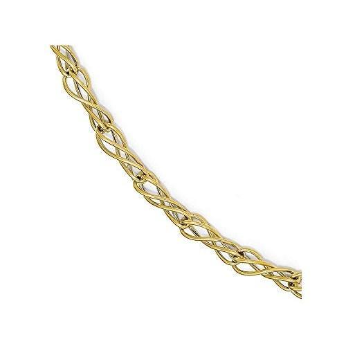 正規店仕入れの Finejewelers 14k 14k ファンシー ポリッシュ ファンシー ポリッシュ ブレスレット(海外取寄せ品), 木枠屋:728fb86d --- airmodconsu.dominiotemporario.com