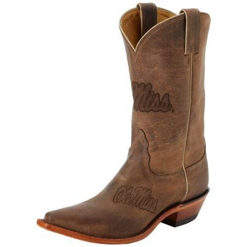 Nocona ブーツ レディース Ole Mississippi ブーツ,タン,12 B US(海外取寄せ品)
