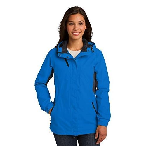 競売 Port Authority レディース Cascade 防水 ジャケット XL Imperial ブルー/ ブラック(海外取寄せ品), インポートブランド ロータス 7623131c