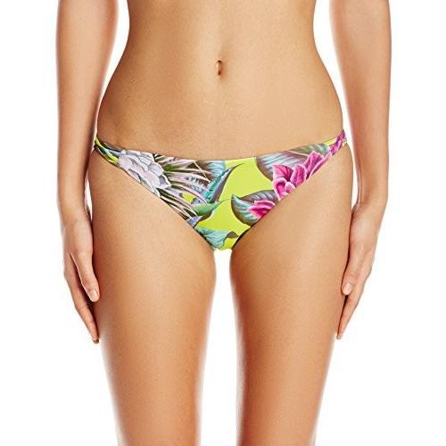 Mara ホフマン レディース リバーシブル バスケット Weave Bikini Bottom, Cactus フローラル Cit(海外取寄せ品)