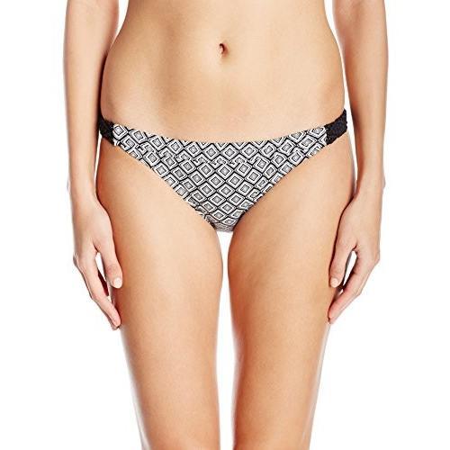 コール of カリフォルニア レディース Macrame バンド Hipster Bikini Bottom, マルチ, XL(海外取寄せ品)