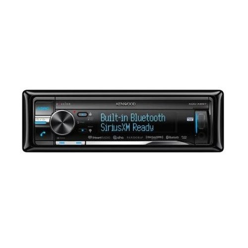 Kenwood KDCX897 eXcelon Single DIN In-Dash Receiver with Built In Bluetooth