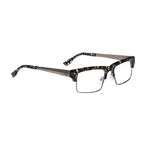 Spy オプティック Spy オプティック Flint Eyeglasses - ブラック Flake/ガンメタル フレーム & Cle海外取寄せ品