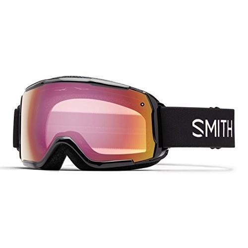 公式 スミス オプティック Youth Grom スノー ゴーグル ブラック フレーム/レッド Sensor ミラー海外取寄せ品, Honeyshop 32ec10b7