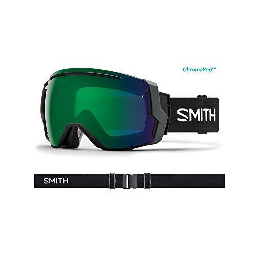 スミス オプティック アダルト I/O 7 Snowmobile ゴーグル ブラック / ChromaPop エブリデイ グリーン ミラ海外取寄せ品