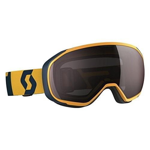 スコット FIX スノー Goggle (CITRUS イエロー/コーラル ブルー フレーム, AMPLIFIER シルバー クローム 海外取寄せ品