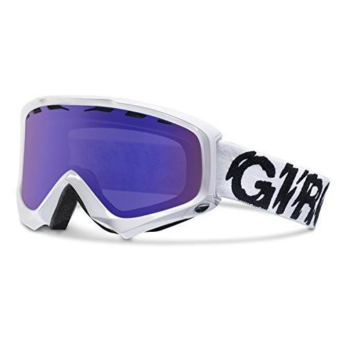 Giro 2013/14 Station ウインター スノー ゴーグル (白い スタティック - グレー 紫の)海外取寄せ品