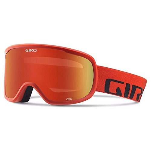 Giro 2018 Cruz スキー Goggle - レッド Wordmark フレーム/アンバー Scarlet レンズ - 708海外取寄せ品