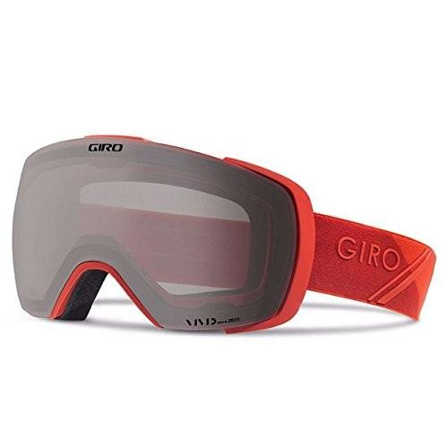 Giro Contact スノー ゴーグル - メンズ レッド Sporttech フレーム with Vivid オニキス/Vivid海外取寄せ品