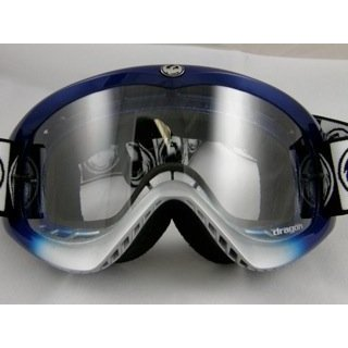 Dragon - MDX - ミッドナイト ブルー Fade to シルバー フレーム - Clear Lenses海外取寄せ品