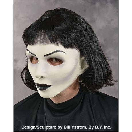 Zagone ホット Goth マスク, ホワイト Skinned フィーメイル ドール, ブラック リップ海外取寄せ品