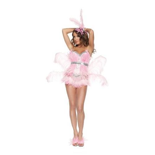 スターライン セクシー Flamingo コスチューム レディース 4 ピース コスチューム セット, ピンク, Medium海外取寄せ品