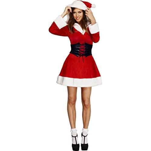 フード サンタ コスチューム - Medium - ドレス サイズ 10-12海外取寄せ品