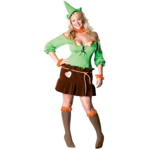 スケアクロウ コスチューム - Plus サイズ - ドレス サイズ 16-22海外取寄せ品