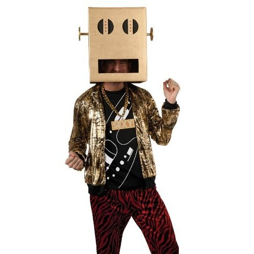 Rubie's コスチューム Lmfao Robot Pete Shuffle ボット パーティー ロック Anthem コスチューム,海外取寄せ品