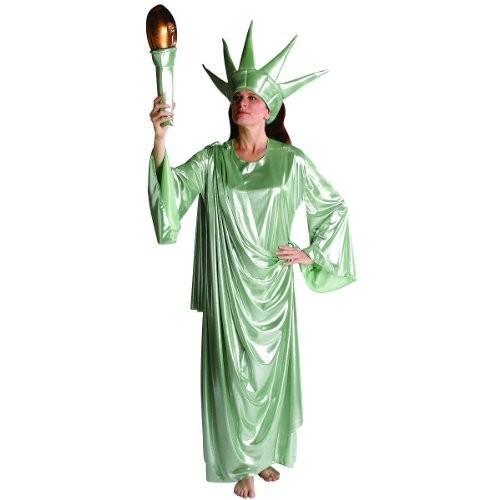 リバティ ガール コスチューム - ラージ/X-ラージ - ドレス サイズ 6-12海外取寄せ品