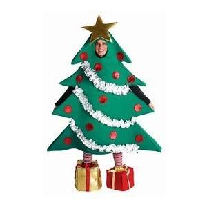 クリスマス トゥリー コスチューム - One サイズ - チェスト サイズ 48-52海外取寄せ品