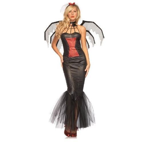 レッグ アベニュー レディース Widow ビューティー ドレス, ブラック, X-ラージ海外取寄せ品