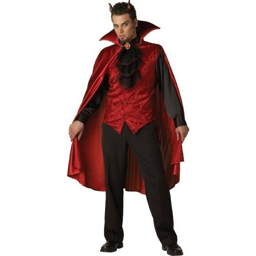 InCharacter コスチューム, LLC メンズ Dashing Devil コスチューム, レッド/黒, ラージ海外取寄せ品