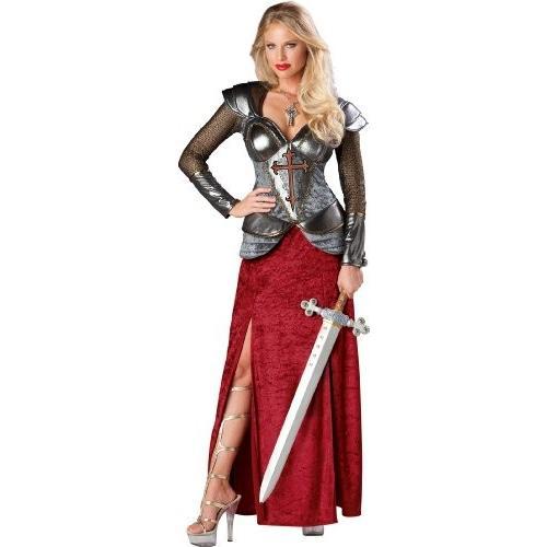 InCharacter コスチューム, LLC レディース Joan Of Arc コスチューム, レッド/銀, Medium海外取寄せ品