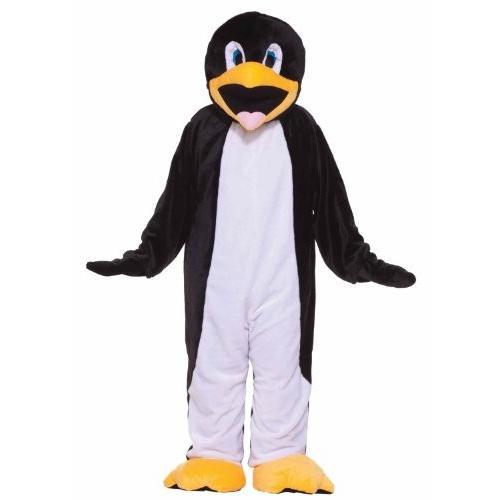 フォーラム Deluxe Plush ペンギン マスコット コスチューム, ブラック/白い, One サイズ海外取寄せ品