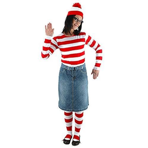 Wheres Waldo ブック コスチューム レディース Wenda ファニー イージー コスチューム サイズ: ラージ-Xラージ海外取寄せ品