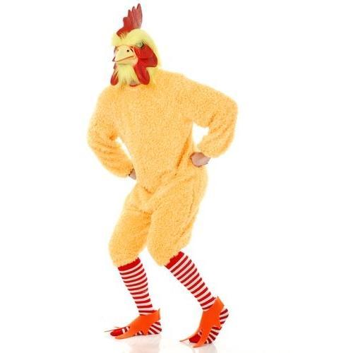 Rocking ロースター イエロー Chicken アダルト ハロウィン コスチューム サイズ XL海外取寄せ品